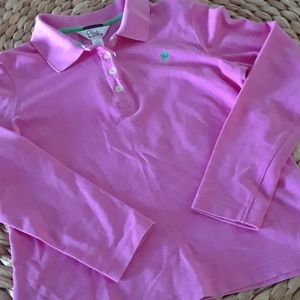 LILLY PULITZER..SHRUNKEN POLO..SMALL